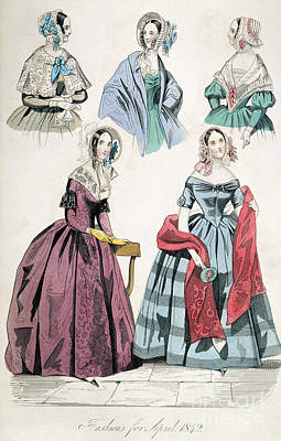 Fashion Print Poster by Granger