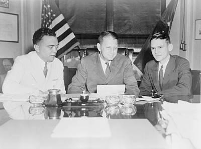 Fbi Director J. Edgar Hoover Poster by Everett