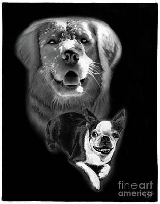 Festus And Rosie Poster by Peter Piatt