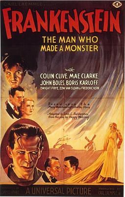 Film: Frankenstein, 1931 Poster by Granger