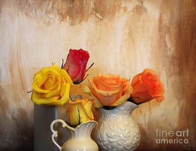 Five Roses Poster by Marsha Heiken
