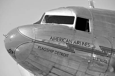 Flagship Detroit Work Number Seven Poster by David Lee Thompson
