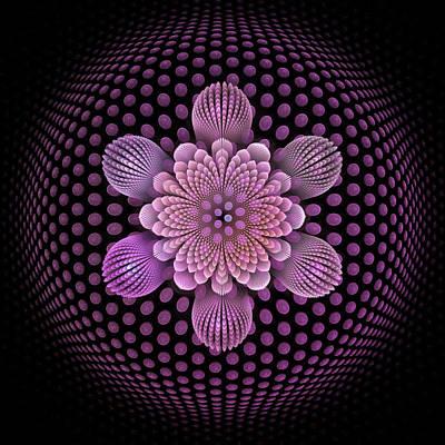 Fleur D'aire Poster by Pam Blackstone