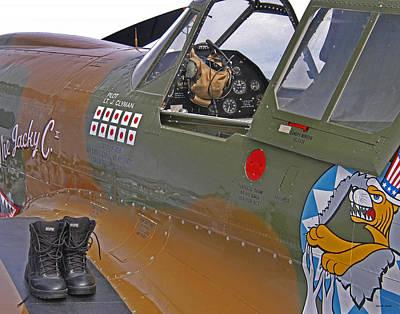 Flying Tigers 02 Poster by Jeff Stallard