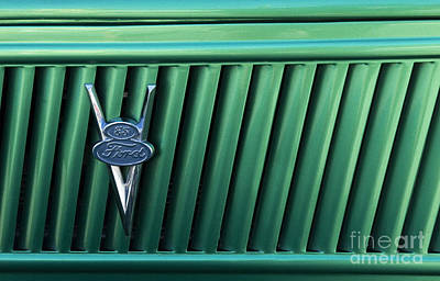 Ford  Truck Emblem Poster by Bob Christopher