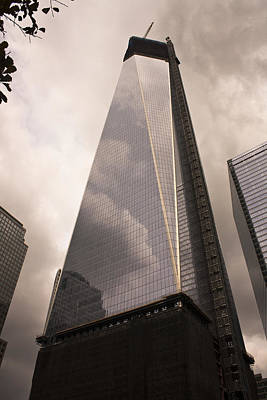 Freedom Tower Reflections Poster by Teresa Mucha
