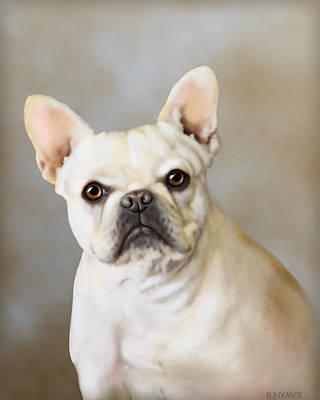 French Bulldog Luna Poster by Barbara Hymer