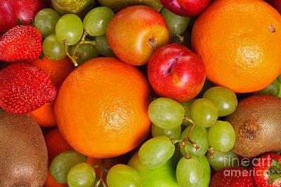Fresh Fruit  Poster by Richard Thomas