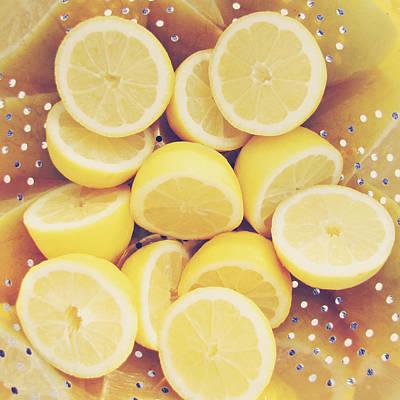 Fresh Lemons Poster by Amy Tyler