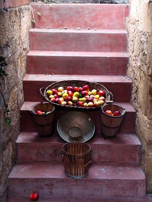 Fruit Basket Poster by Kelly Jones