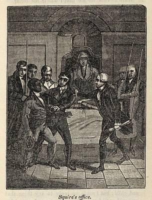 Fugitive Slave Henry Bibb Appears Poster by Everett