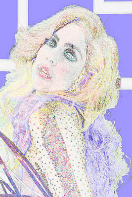 Gaga For You Poster by Jimi Bush
