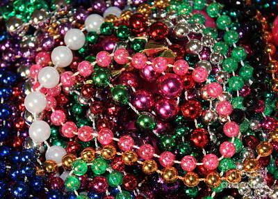 Gasparilla Beads 2 Poster by Carol Groenen