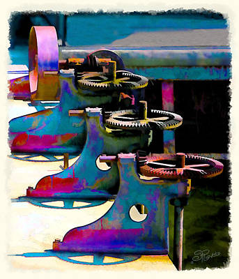 Gears Poster by Suni Roveto