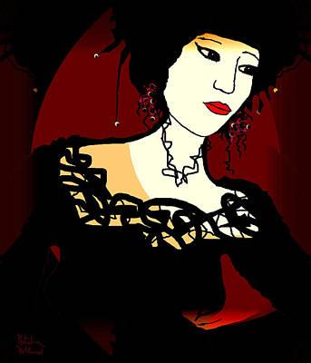 Geisha 1 Poster by Natalie Holland
