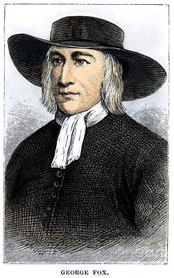 George Fox (1624-1691) Poster by Granger