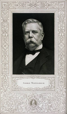George Westinghouse, American Engineer Poster by Science, Industry & Business Librarynew York Public Library