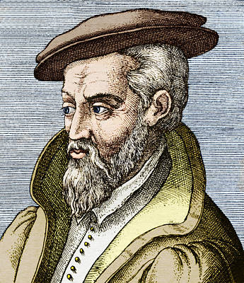 Georgius Agricola, German Mineralogist Poster by Sheila Terry