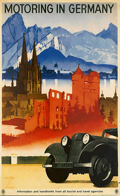 Germany Poster by Georgia Fowler