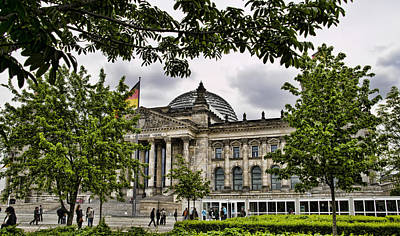 Germanys Parliment Poster by Jon Berghoff
