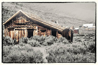 Ghosts Of Bodie Past Poster by Linda Dunn