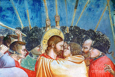 Giotto: Betrayal Of Christ Poster by Granger