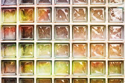 Glass Bricks Poster by Tom Gowanlock