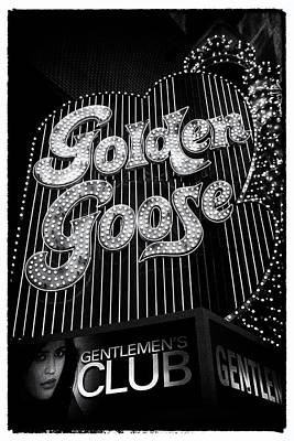 Golden Goose Poster by Peter Aitchison