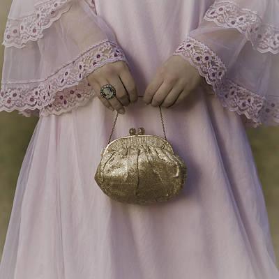 Golden Handbag Poster by Joana Kruse