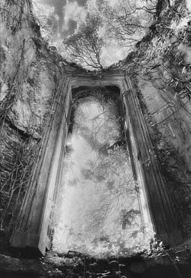 Gothic Window Poster by Simon Marsden
