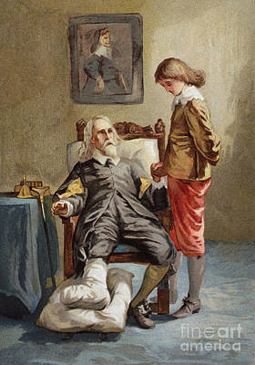 Gout, 19th Century Poster by Science Source