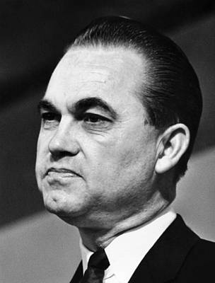Governor George Wallace Of Alabama Poster by Everett
