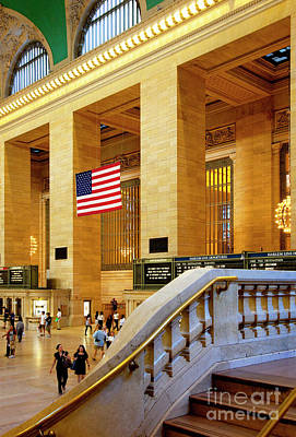 Grand Central Poster by Brian Jannsen