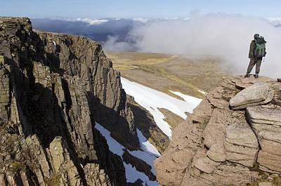Granite Cliffs, Scotland Poster by Duncan Shaw