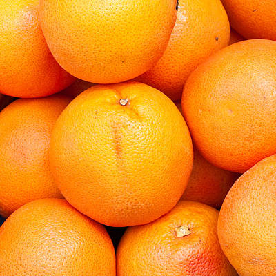 Grapefruit Poster by Tom Gowanlock