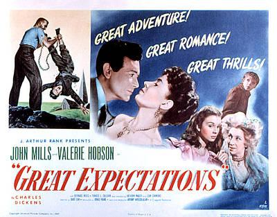 Great Expectations, John Mills, Valerie Poster by Everett