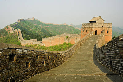 Great Wall Of China Poster by Celso Mollo Photography