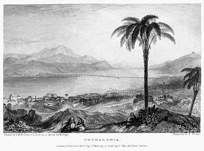 Greece: Kefalonia, 1833 Poster by Granger