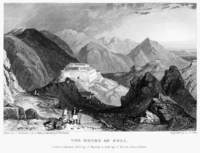 Greece: Souli, 1833 Poster by Granger