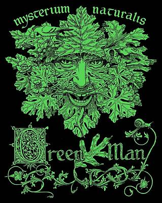 Green Man Poster by Fremont Thompson