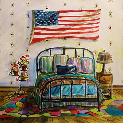 Guest Bedroom Poster by John  Williams