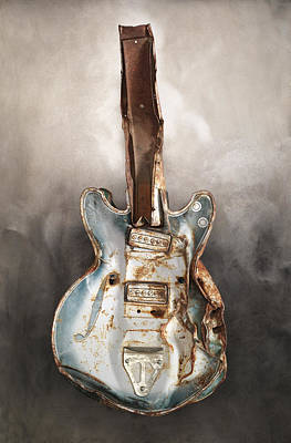 Guitar Poster by Joe Coca