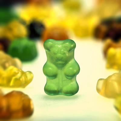 Gummi Bear Poster by Joana Kruse