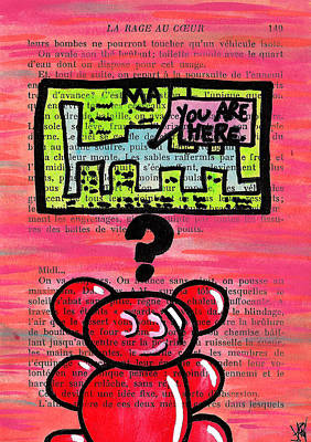 Gummy Bears Can't Read Poster by Jera Sky
