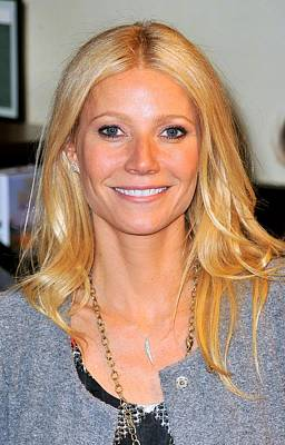 Gwyneth Paltrow At In-store Appearance Poster by Everett