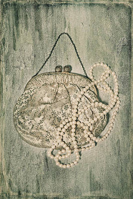 Handbag With Pearls Poster by Joana Kruse