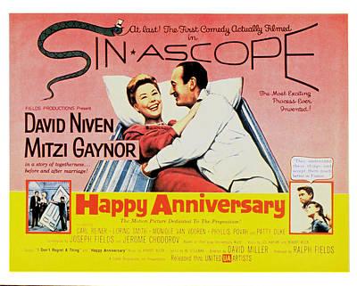 Happy Anniversary, Mitzi Gaynor, David Poster by Everett