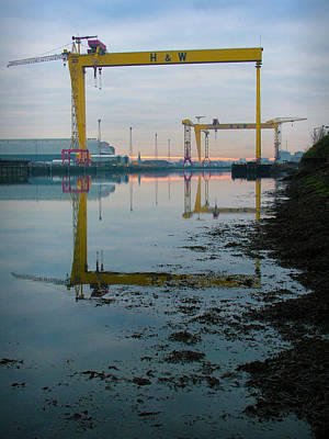 Harland And Wolff Poster by Chris Cardwell