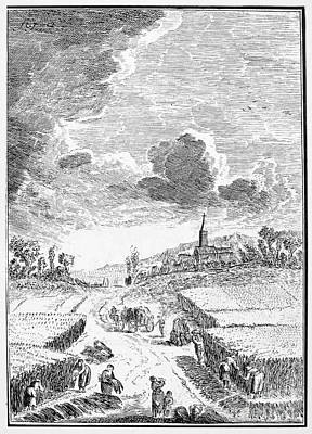 Harvesting, 18th Century Poster by Granger