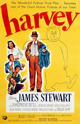 Harvey, Victoria Horne, Jesse White Poster by Everett
